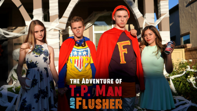 The Cast of T.P. Man and Flusher